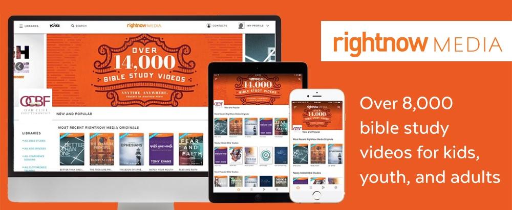 RightNow Media Study Resources   Oak Cliff Bible Fellowship