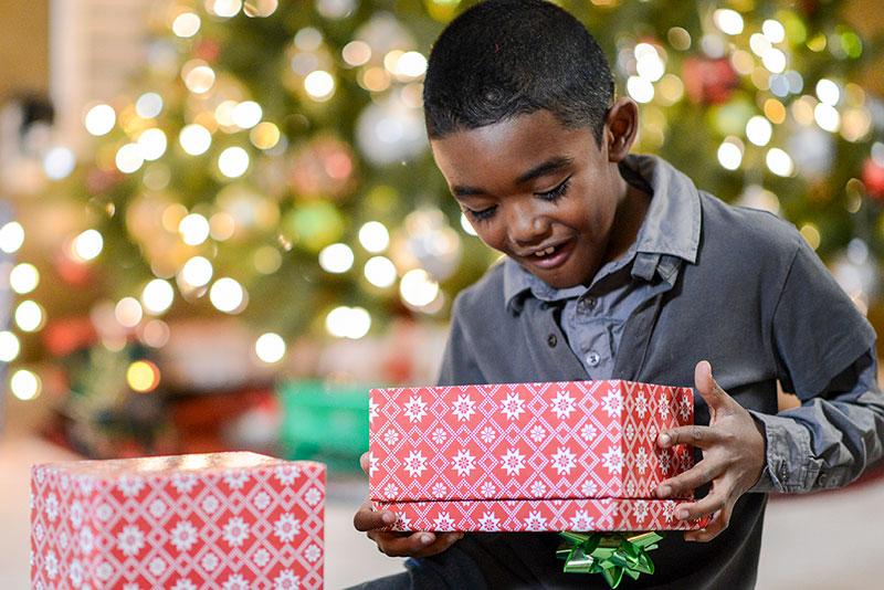 christmas present diy christmas photography props