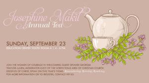 Josephine Makil Annual Tea