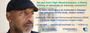 Alzheimer's info from Texas Health