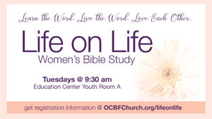 Life on Life Women's Bible Study