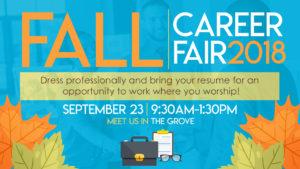 Fall Career Fair - Sept 23, 2018