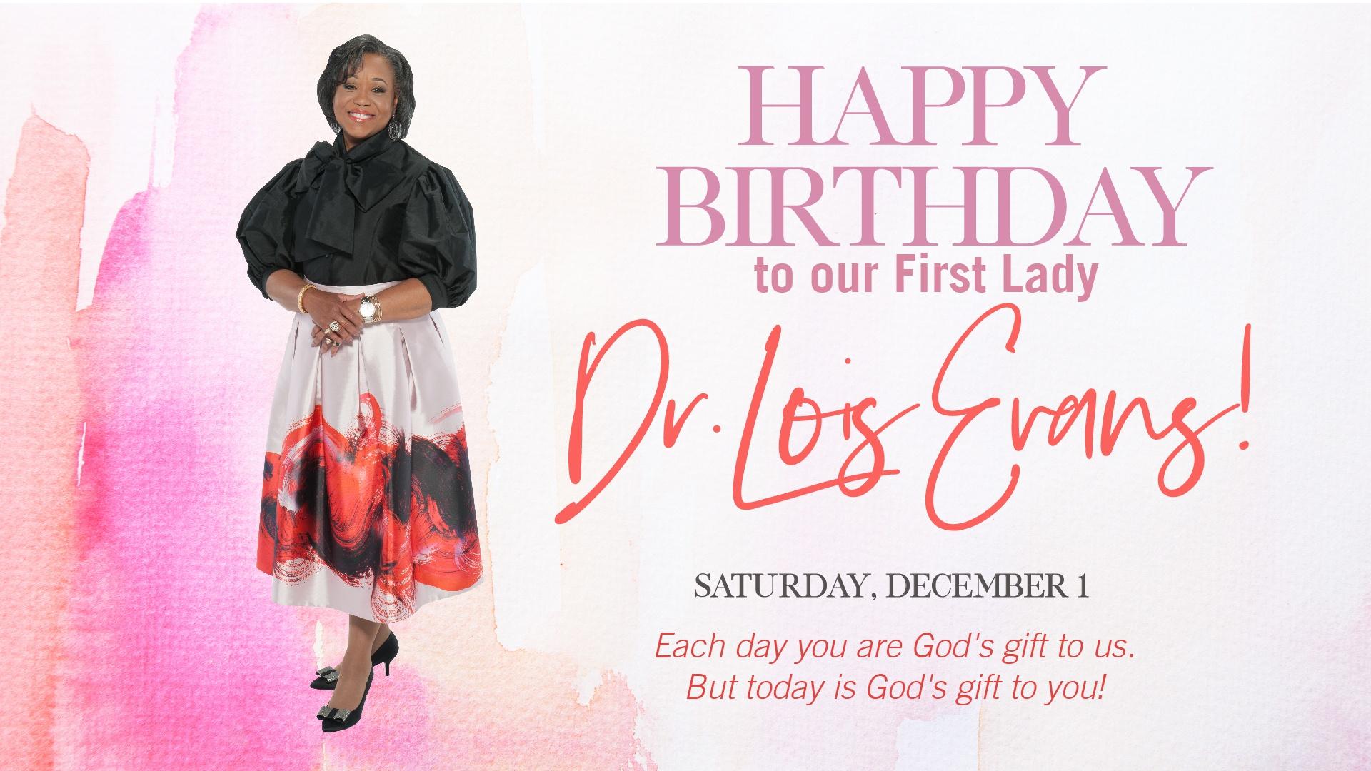 happy birthday first lady