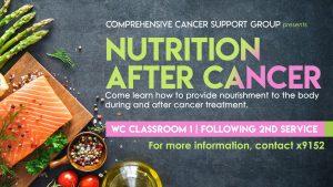 Nutrition after cancer