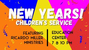 New Years Children's Service