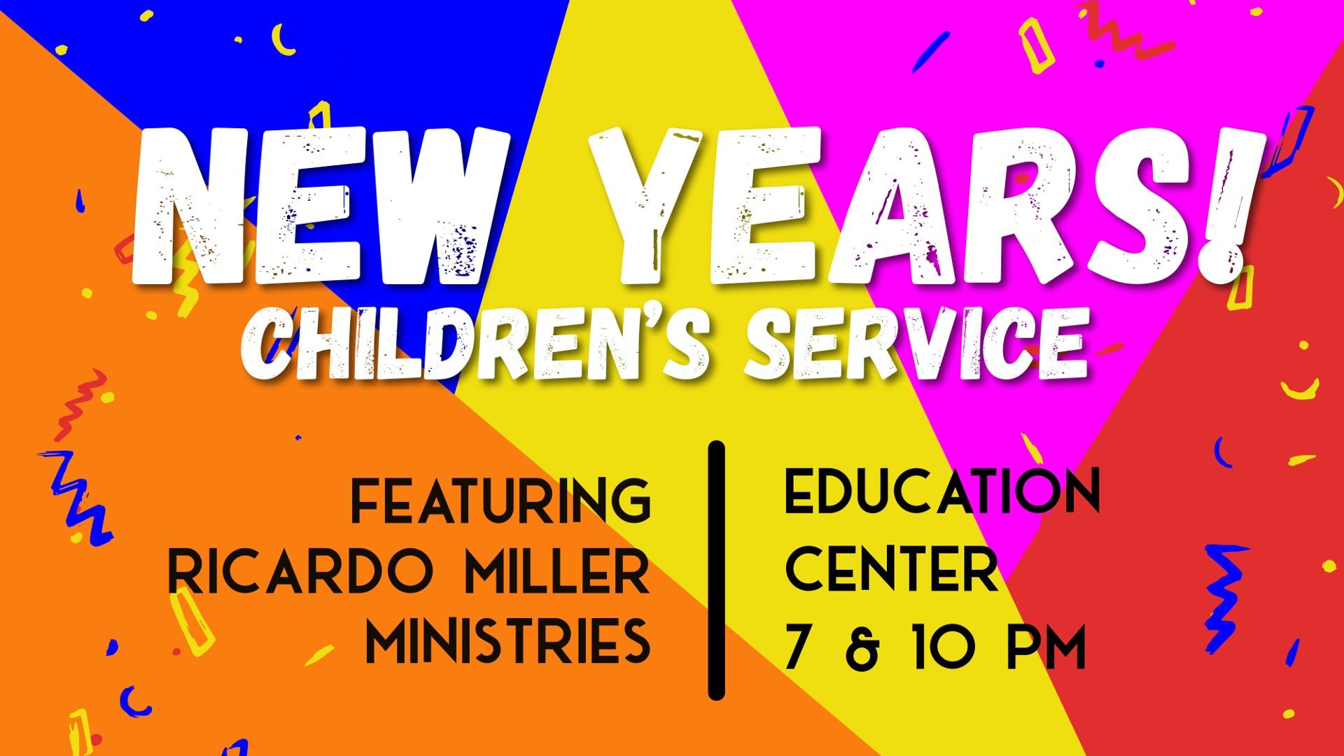 New Years Children's Service