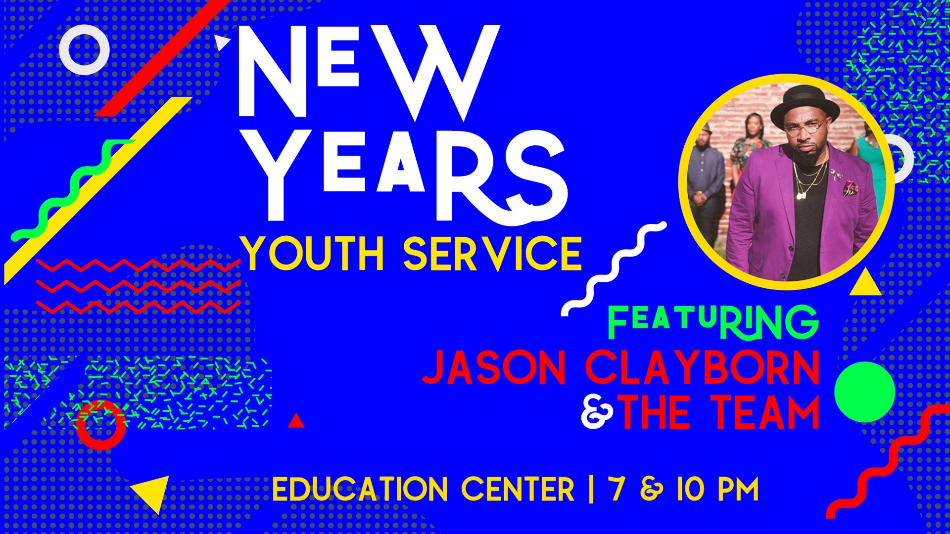 New Years Youth Service