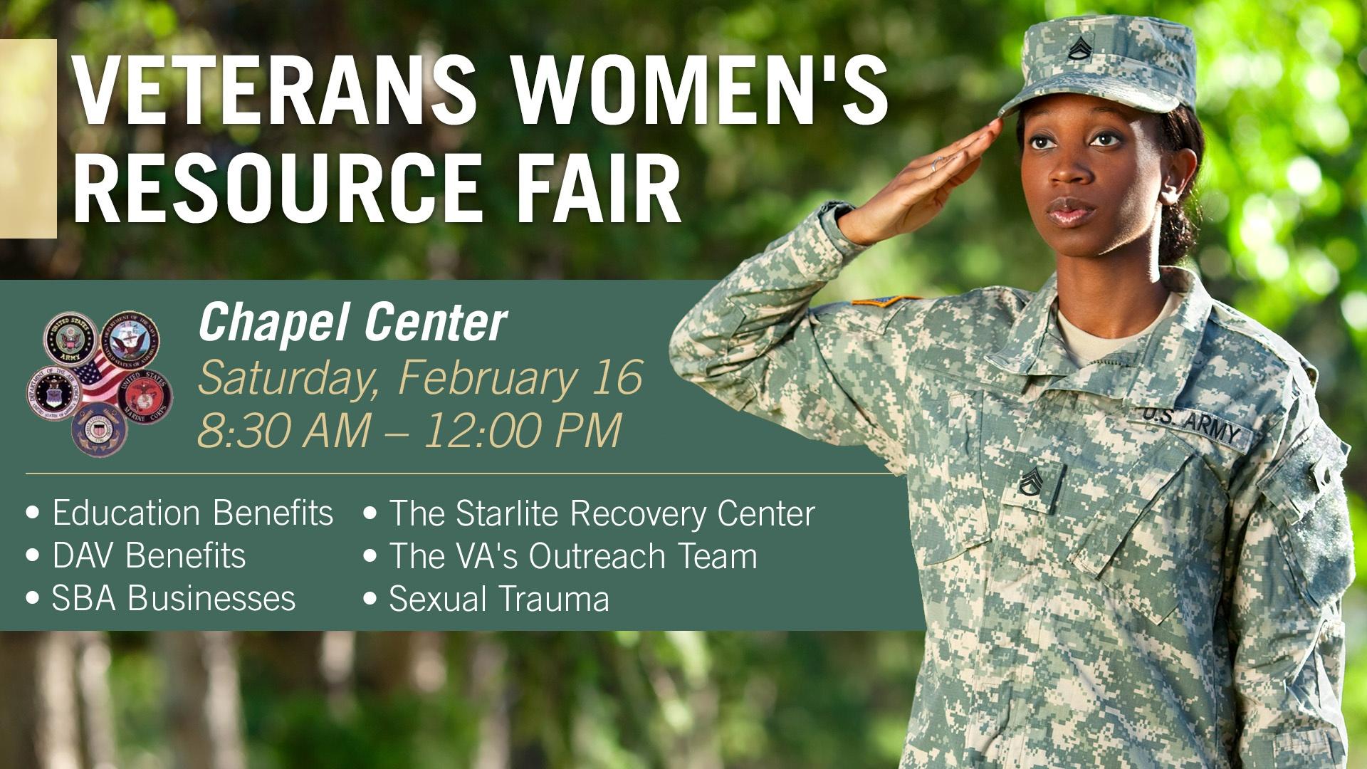 Veterans Women's Resource Fair