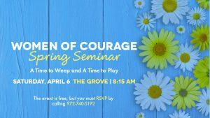Women of Courage Spring Seminar