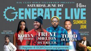 Generate Live Summer Jam