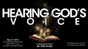 Hearing God's Voice sermon devotional