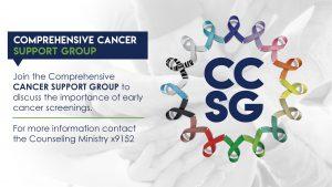 Comprehensive cancer support group information