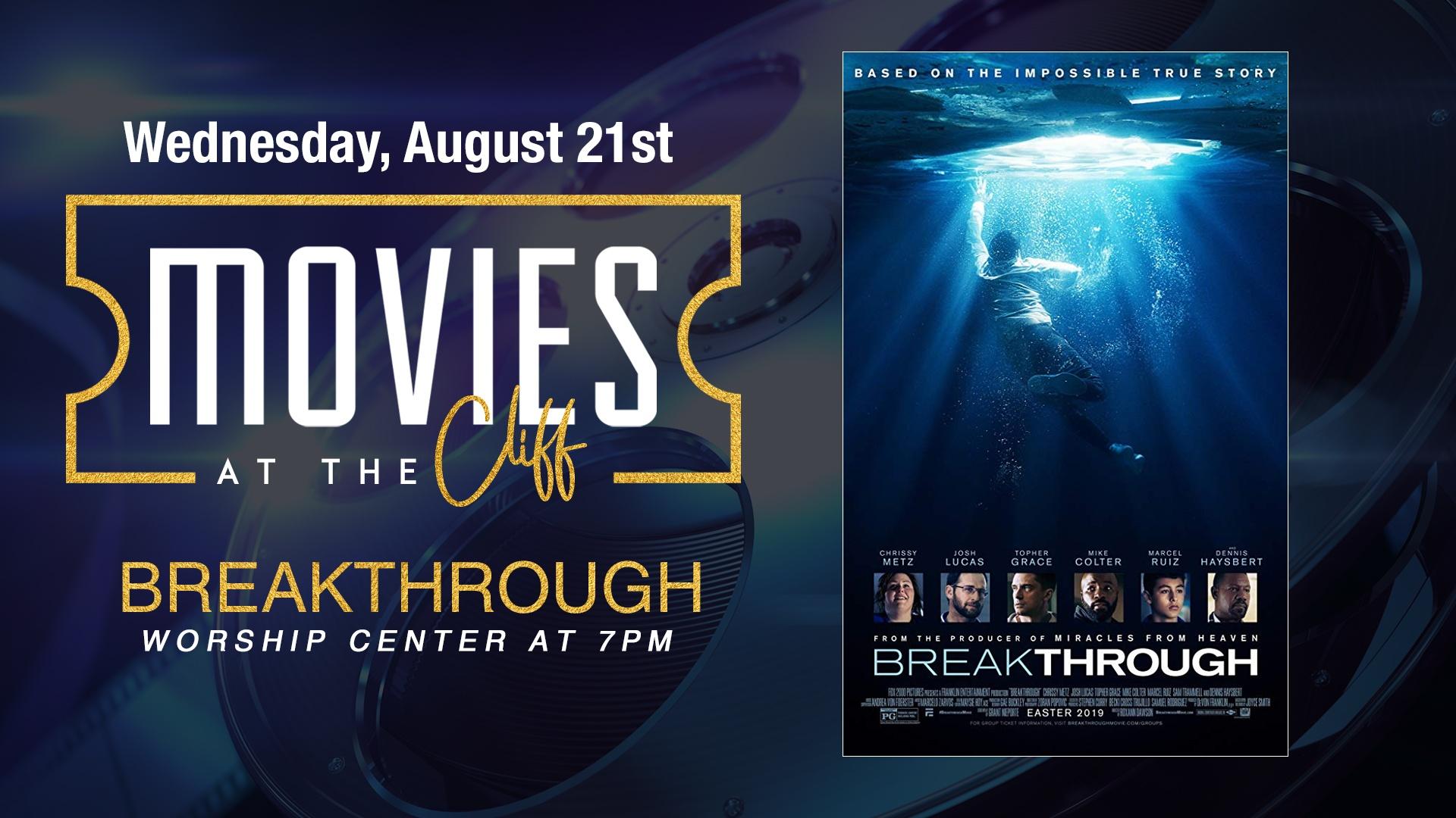 Watch Breakthrough at OCBF
