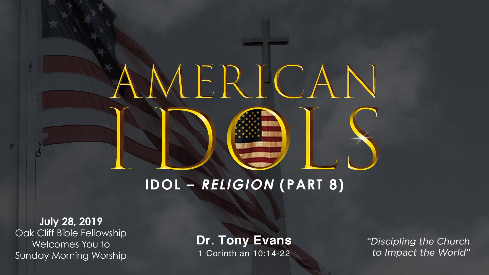 American Idols: Religion by Dr. Tony Evans