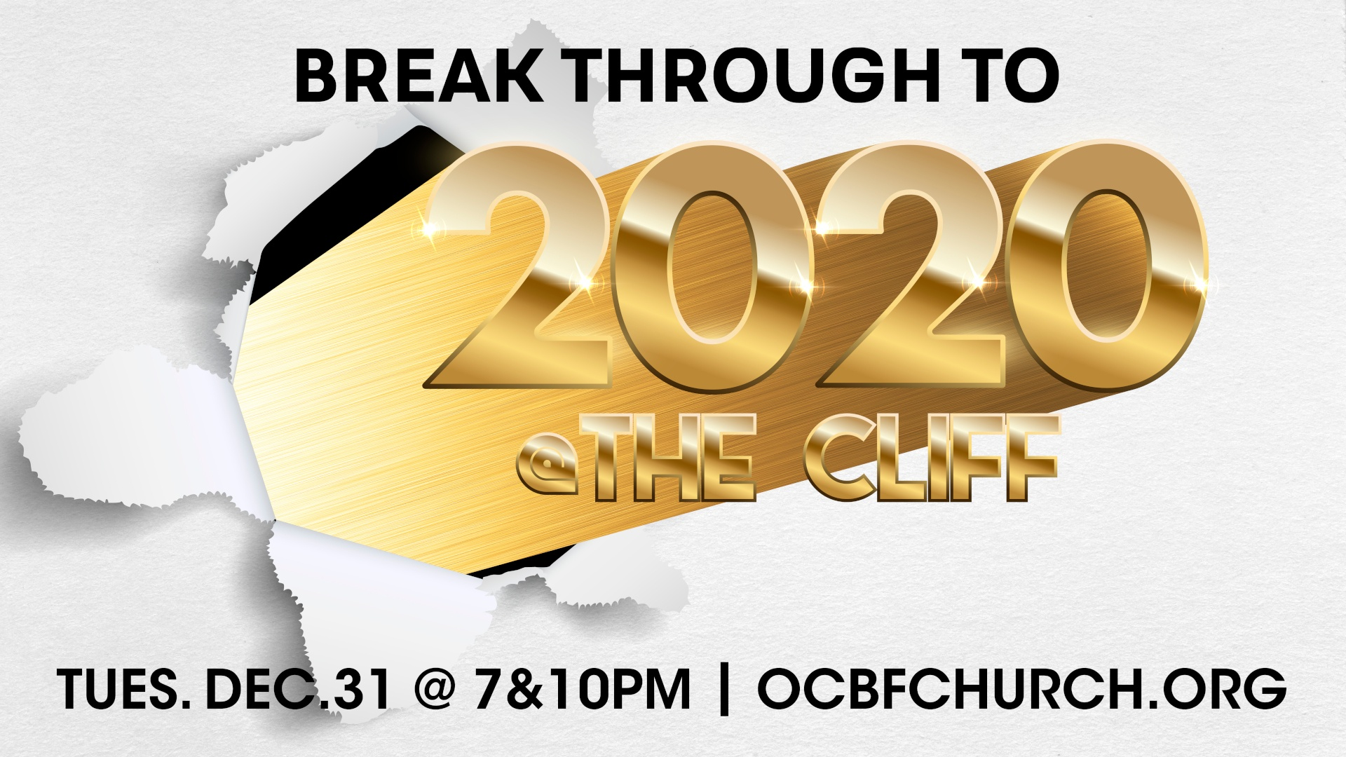 Break through to 2020 at The Cliff