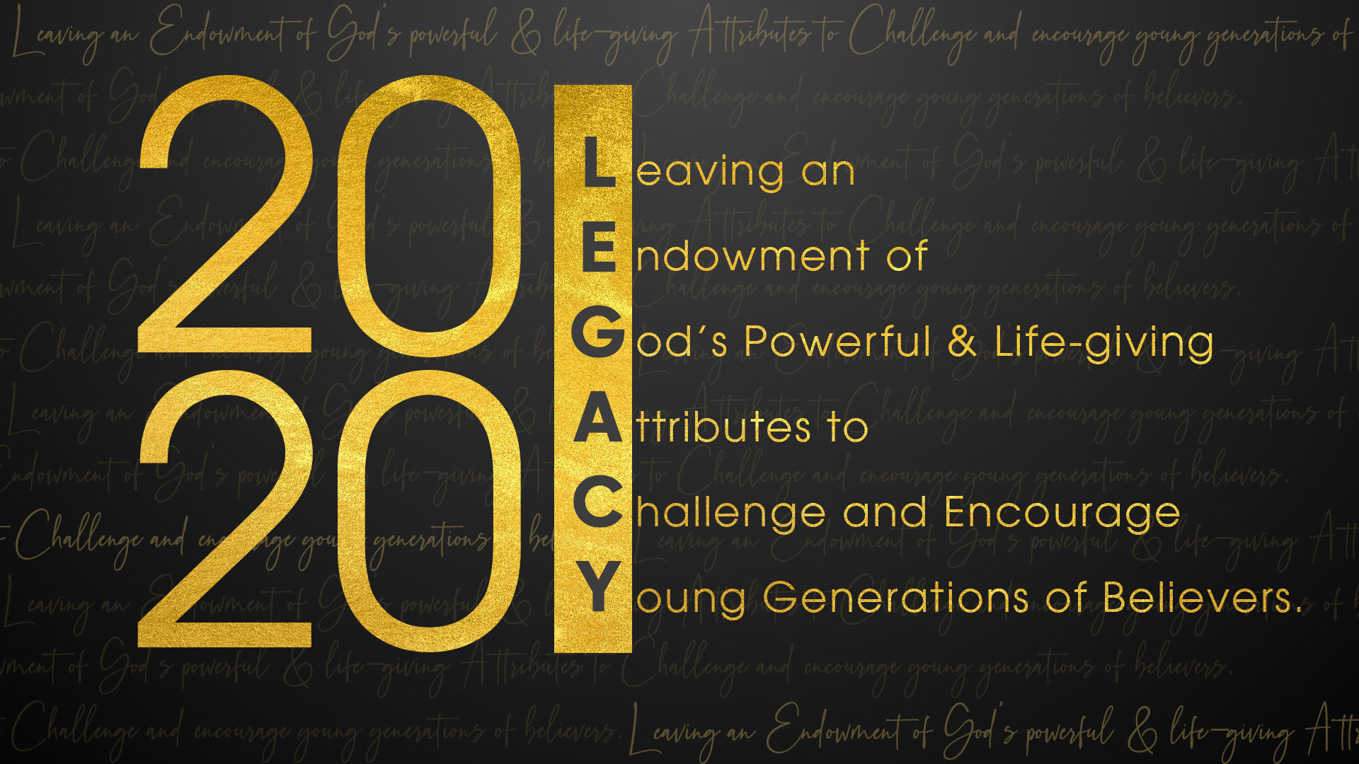 2020 Legacy Breakfasts for Men and Women