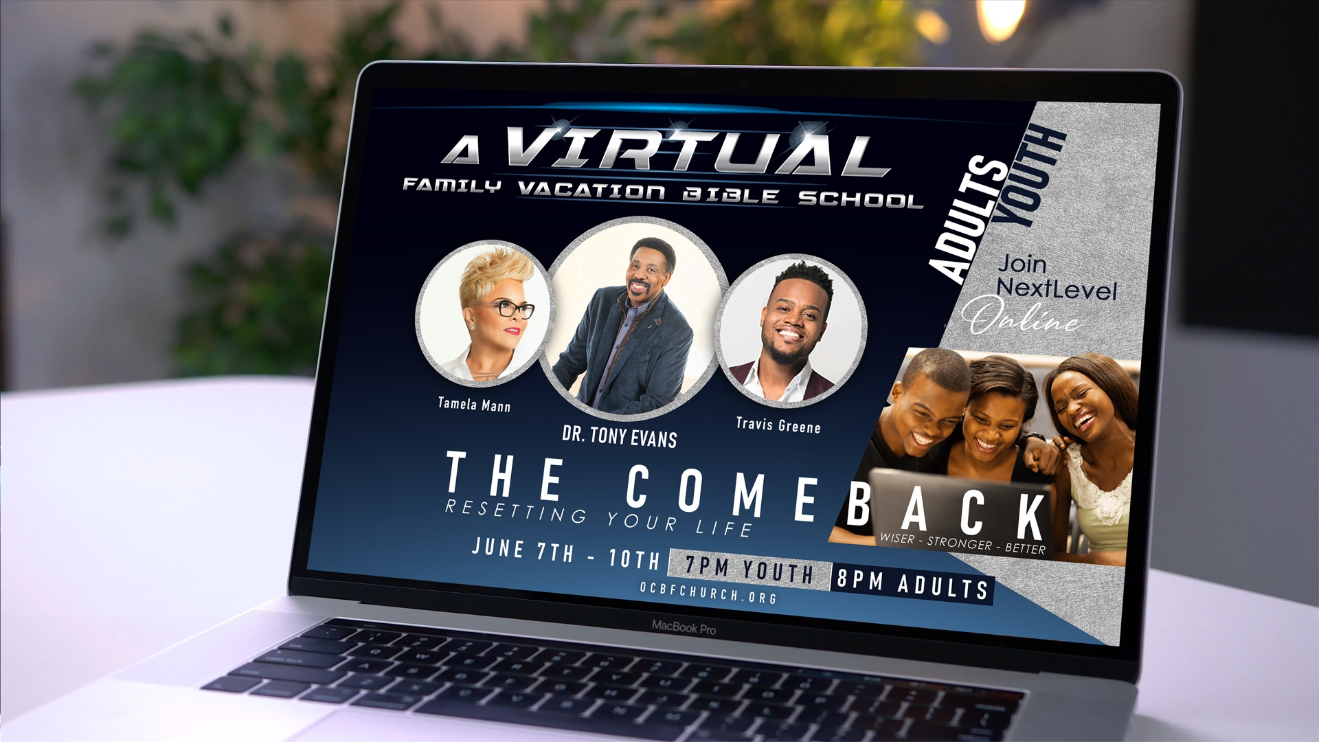 A Virtual Family VBS - The Comeback Resetting Your Life