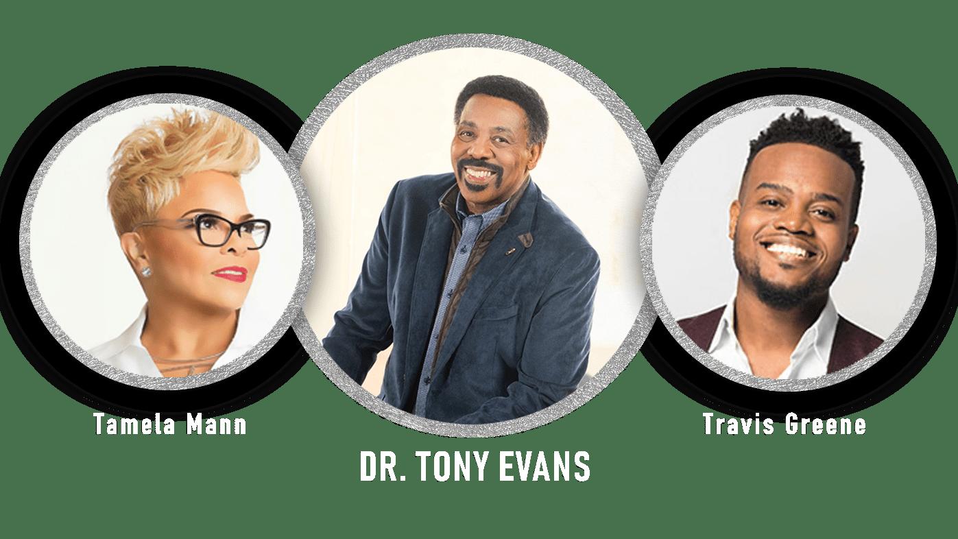 Tamela Mann, Dr. Tony Evans, Travis Greene at Virtual Family VBS at OCBF