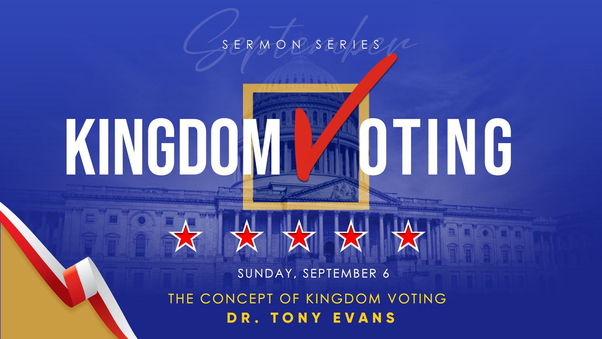 The concept of kingdom voting by Dr. Tony Evans