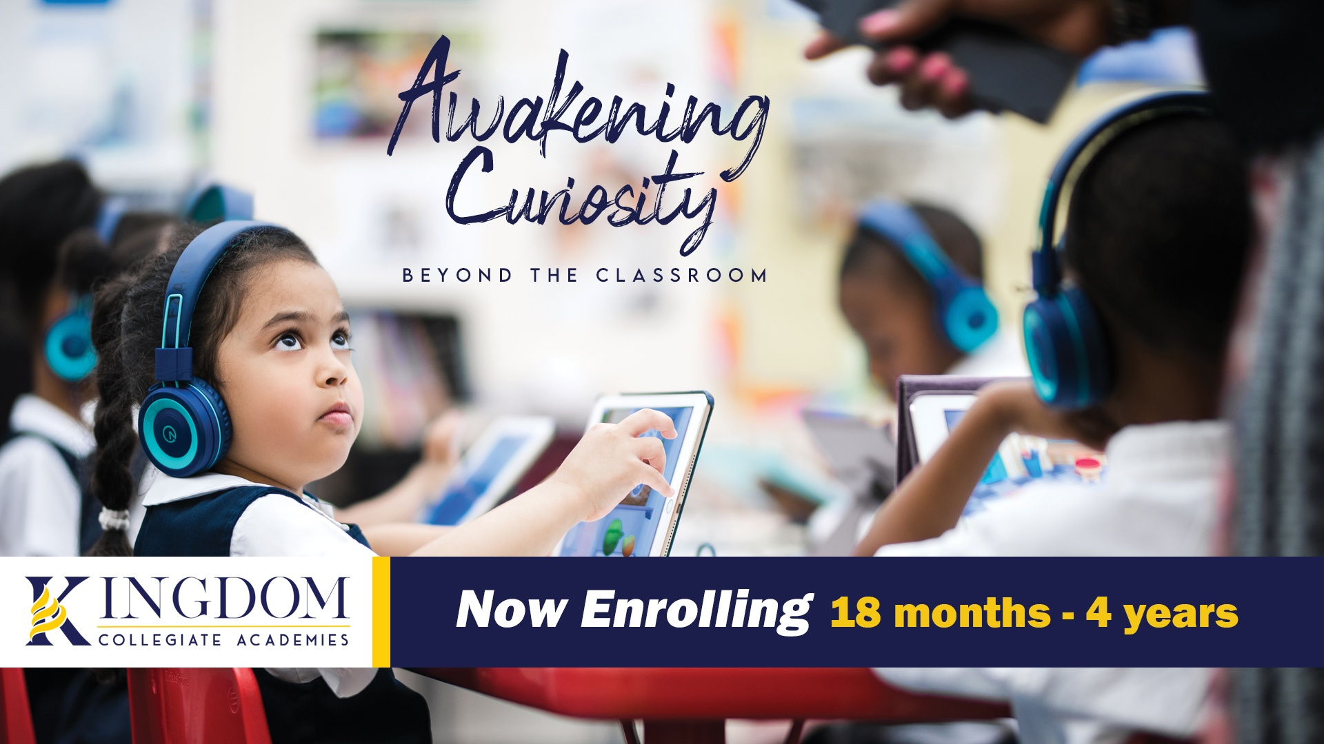 Kingdom Collegiate Academies young students 18 months to 4 years old