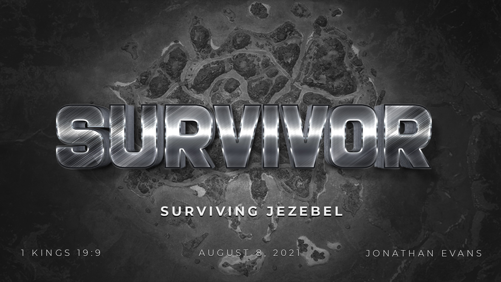 Survivor: Surviving Jezebel by Jonathan Evans