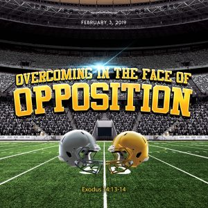 Overcoming in the Face of Opposition