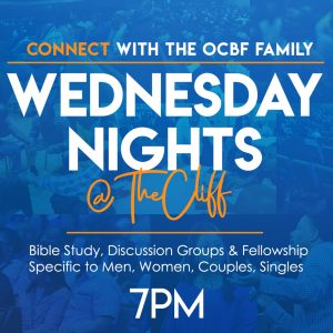Wednesday Nights @ the Cliff