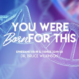 """""""You Were Born for This"""" by Dr. Bruce Wilkinson"""