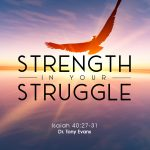 """""""Strength in Your Struggle"""" by Dr. Tony Evans"""